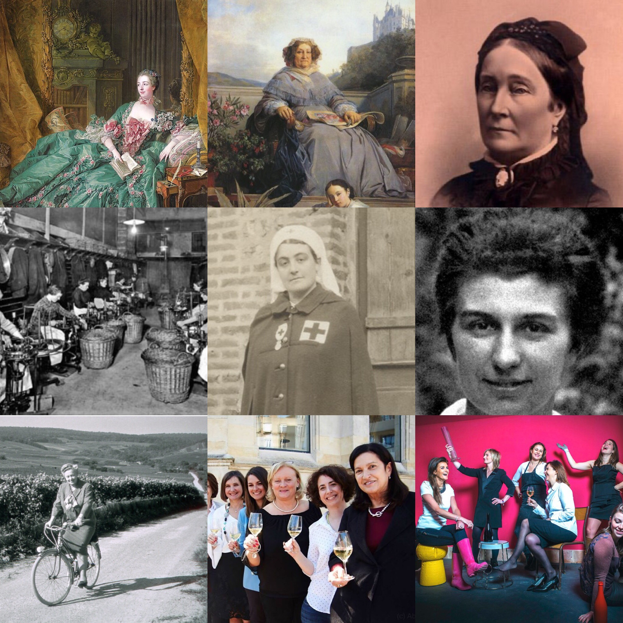 Bubbly Badasses: Women in the History of Champagne - Webinar - Sunday