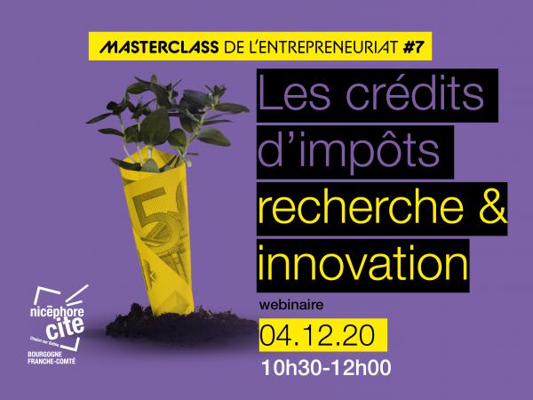 Masterclass de l'Entrepreneuriat #7