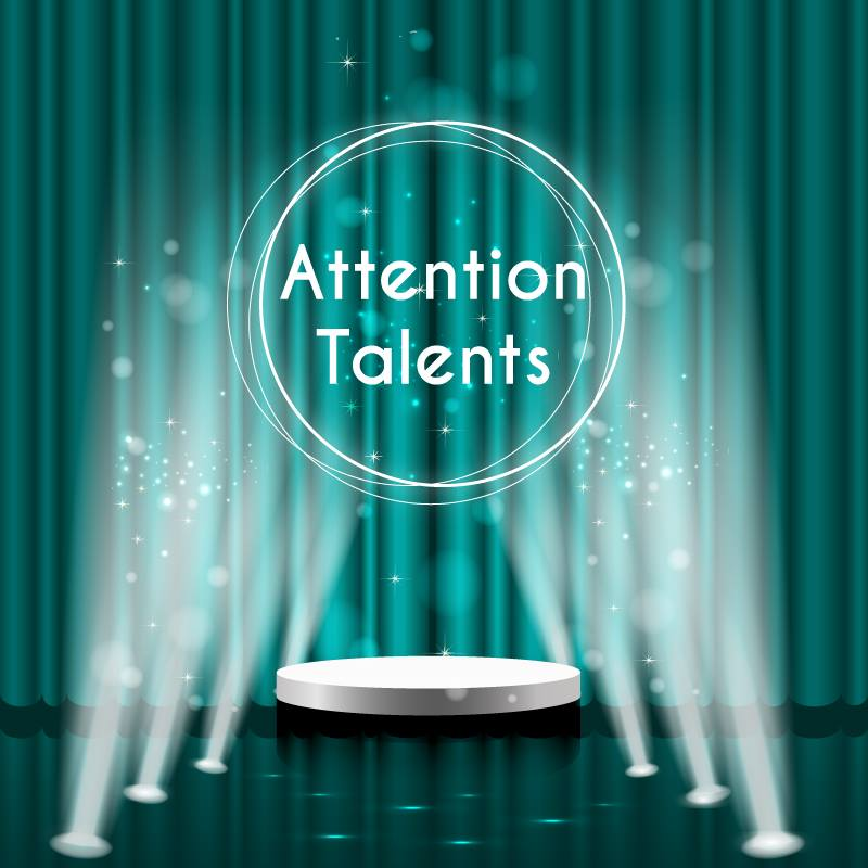 Logo Attention Talents