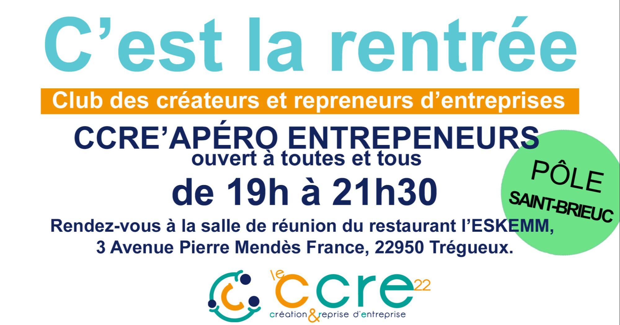 CCRE'APERO à Saint-Brieuc