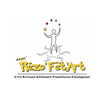 Logo Rézo'Fêt'Art