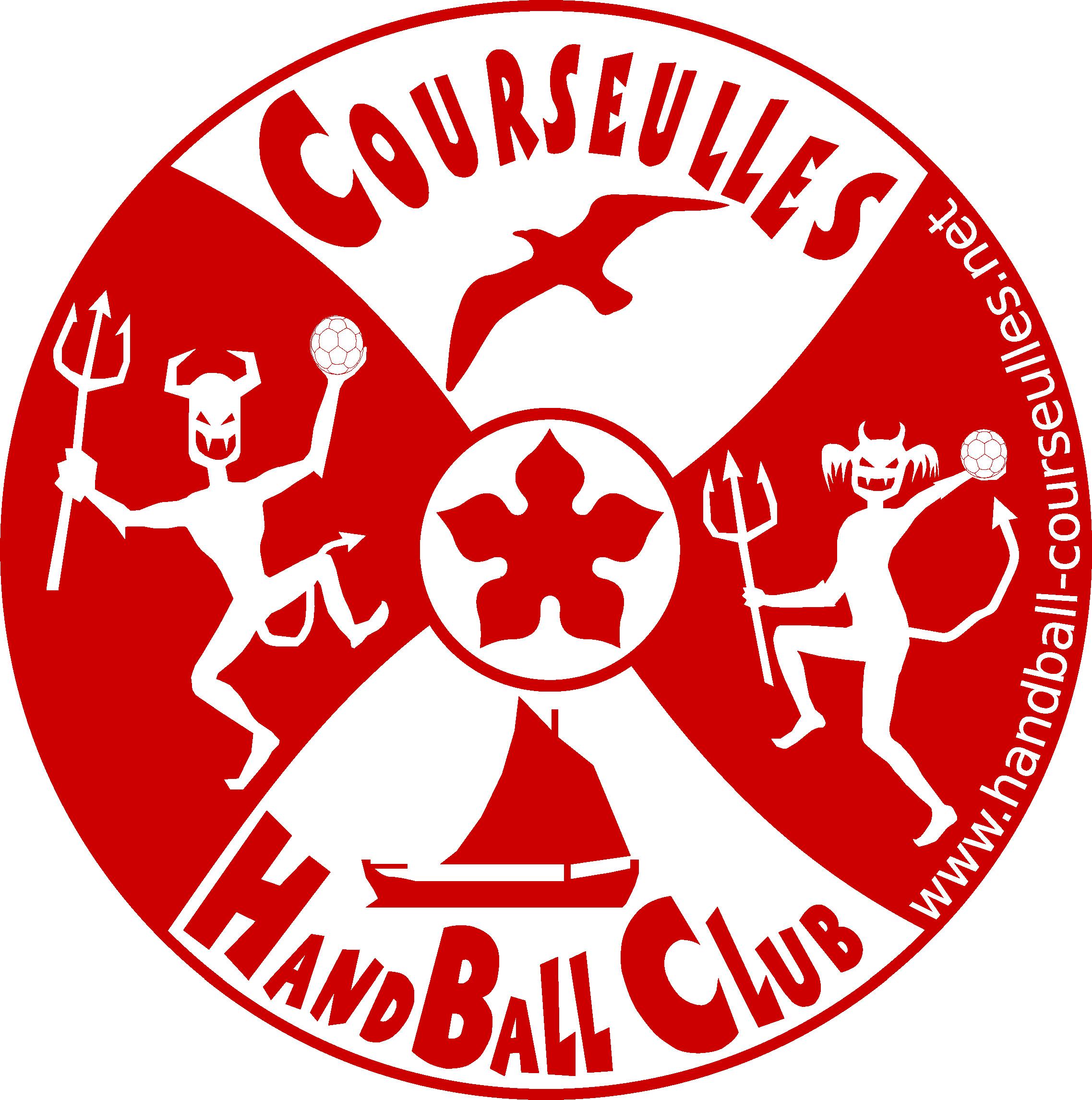 Logo Courseulles HandBall Club