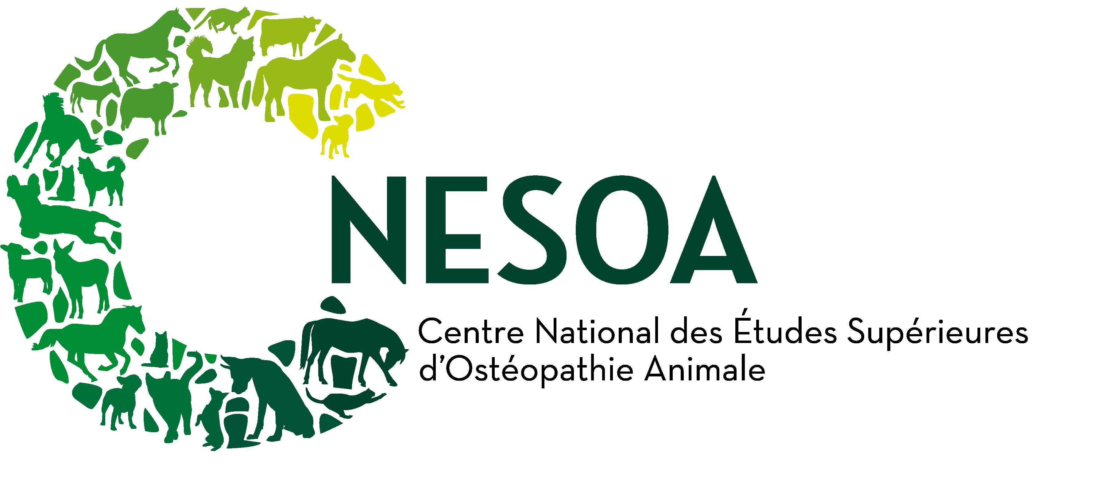 Logo Centre National des Études Supérieurs d'Ostéopathie Animale