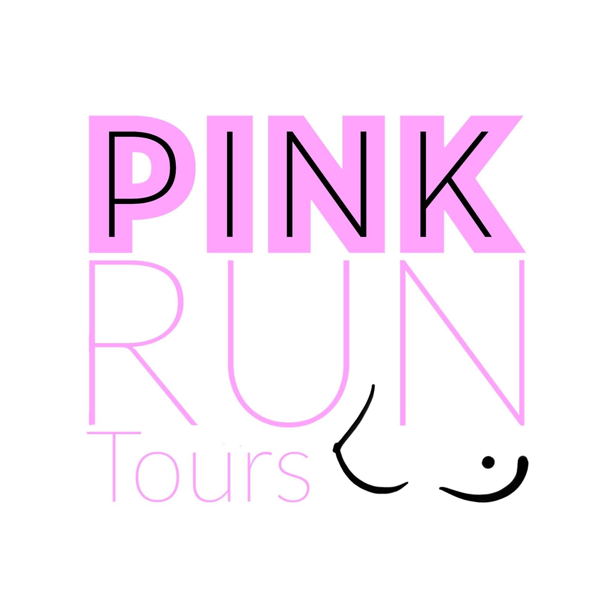 Logo Pink Run Tours'N