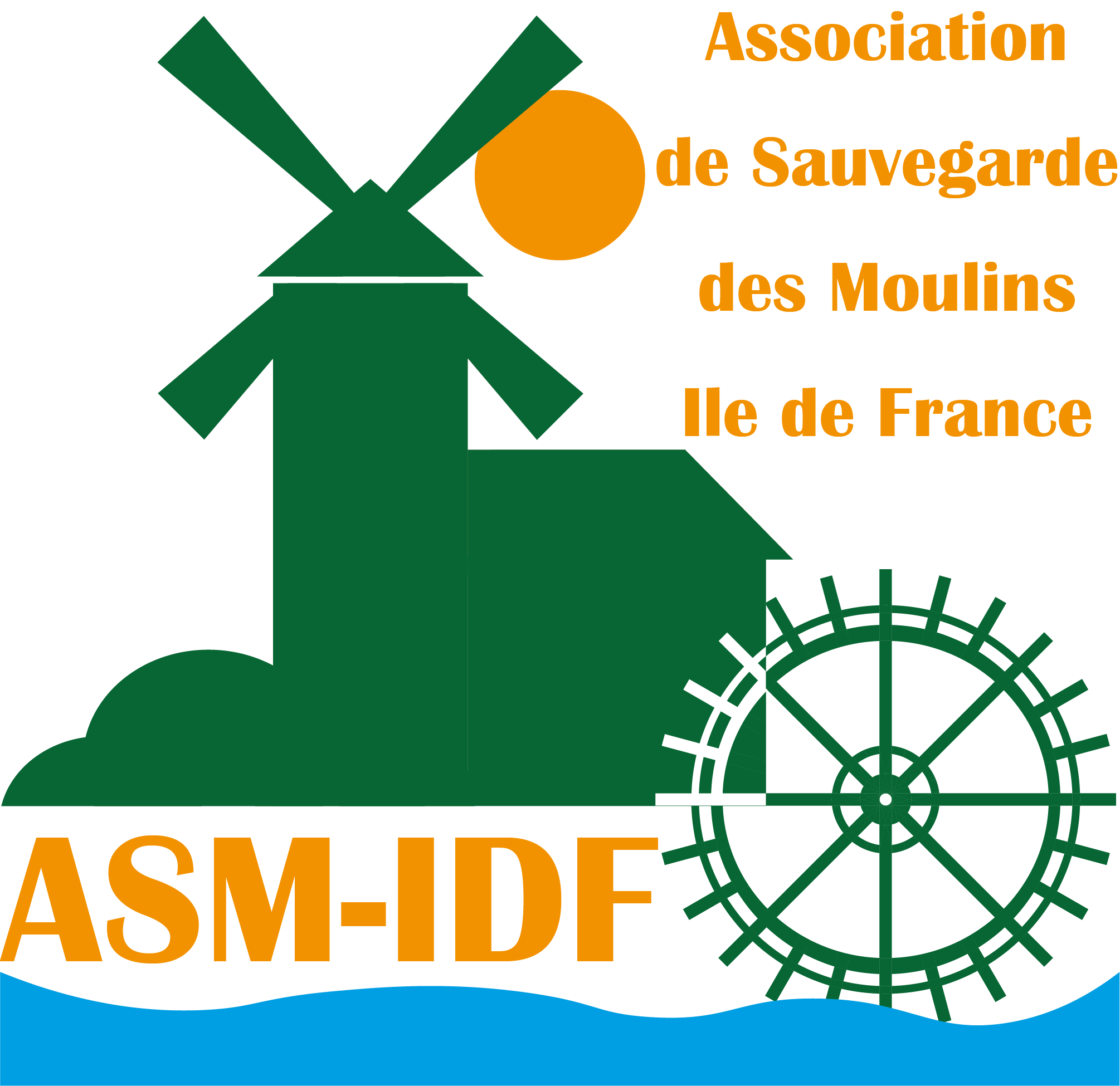 Logo Association de Sauvegarde des Moulins - Ile de France