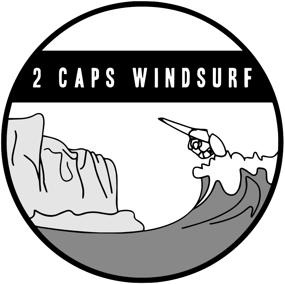 Logo 2 Caps Windsurf