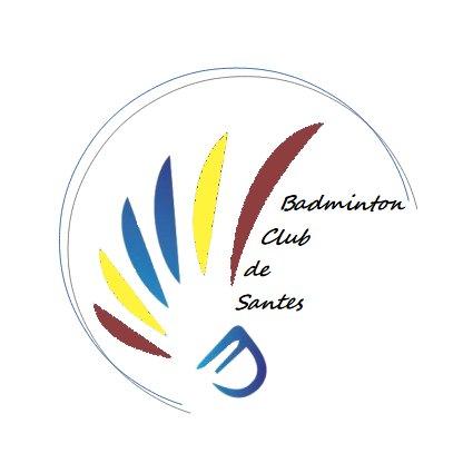 Logo Badminton Club de Santes