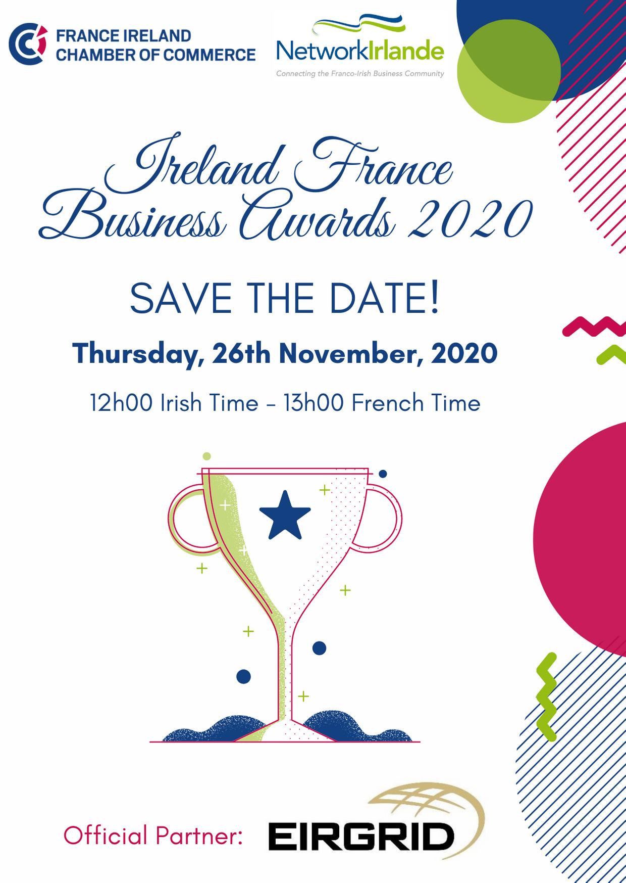 Ireland France Business Awards 2020