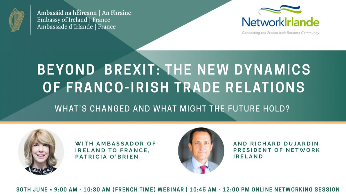 Beyond Brexit : The New Dynamics of Franco-Irish Trade Relations