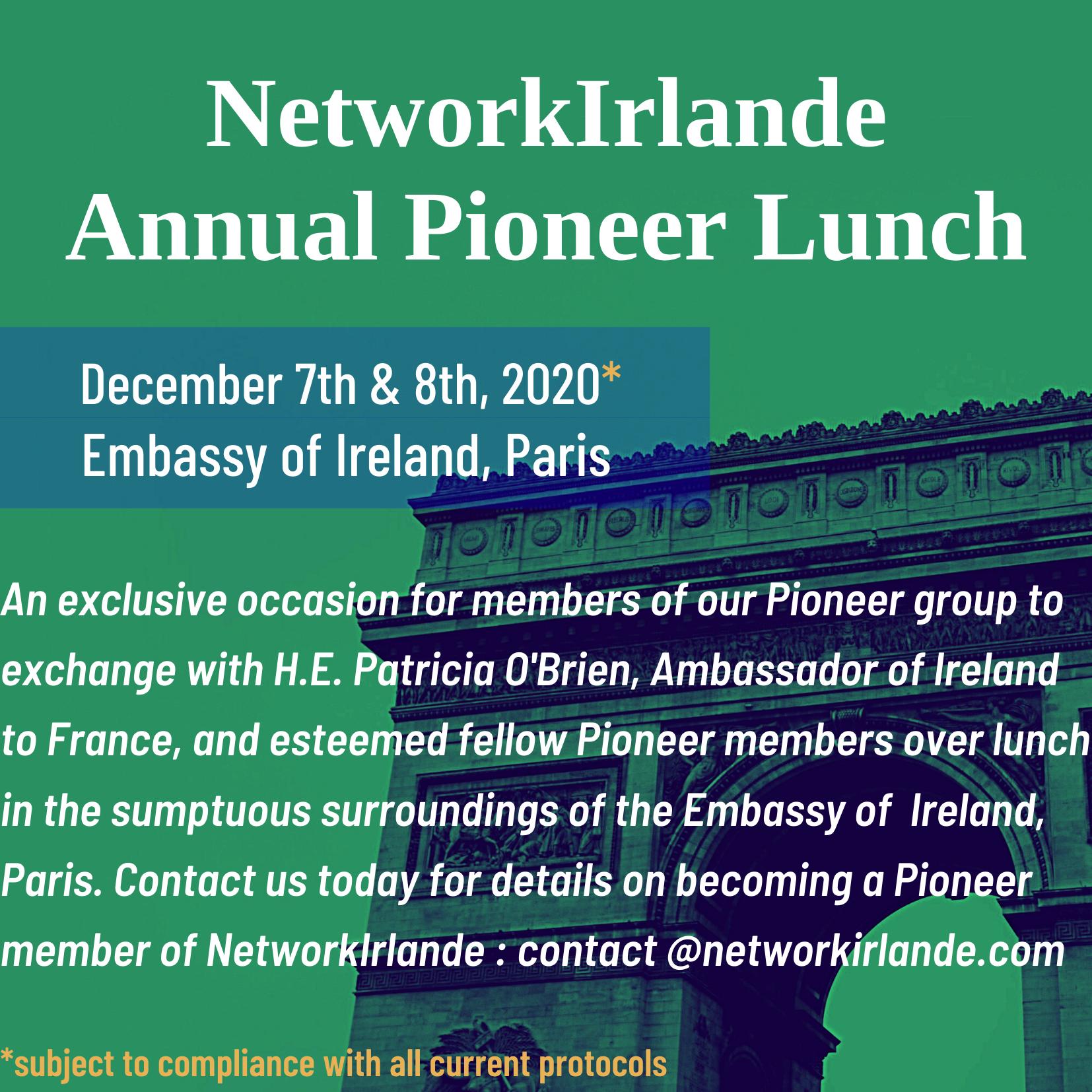 NetworkIrlande Pioneer Lunch