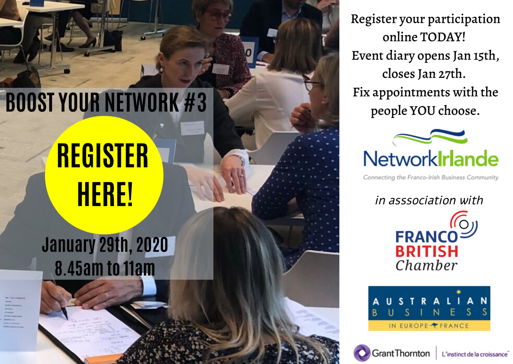 Boost Your Network 2020