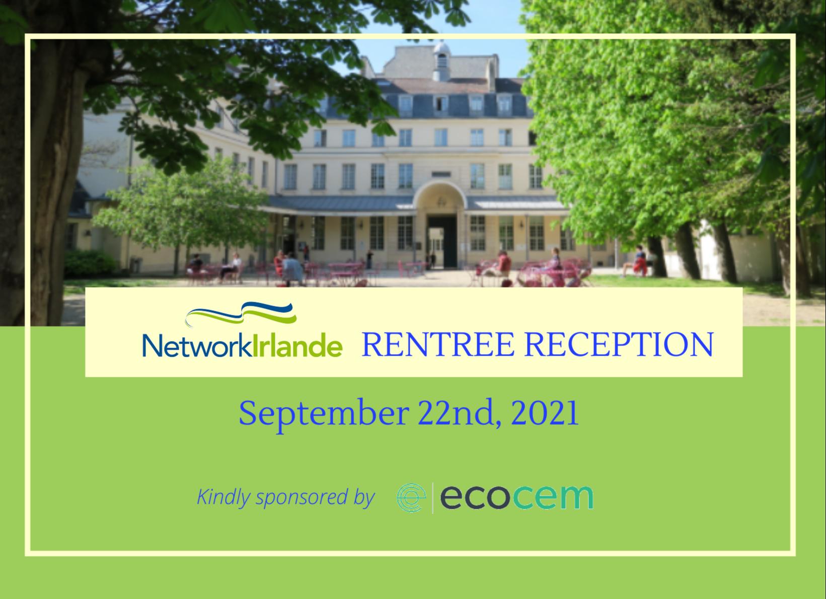NetworkIrlande Rentrée Event