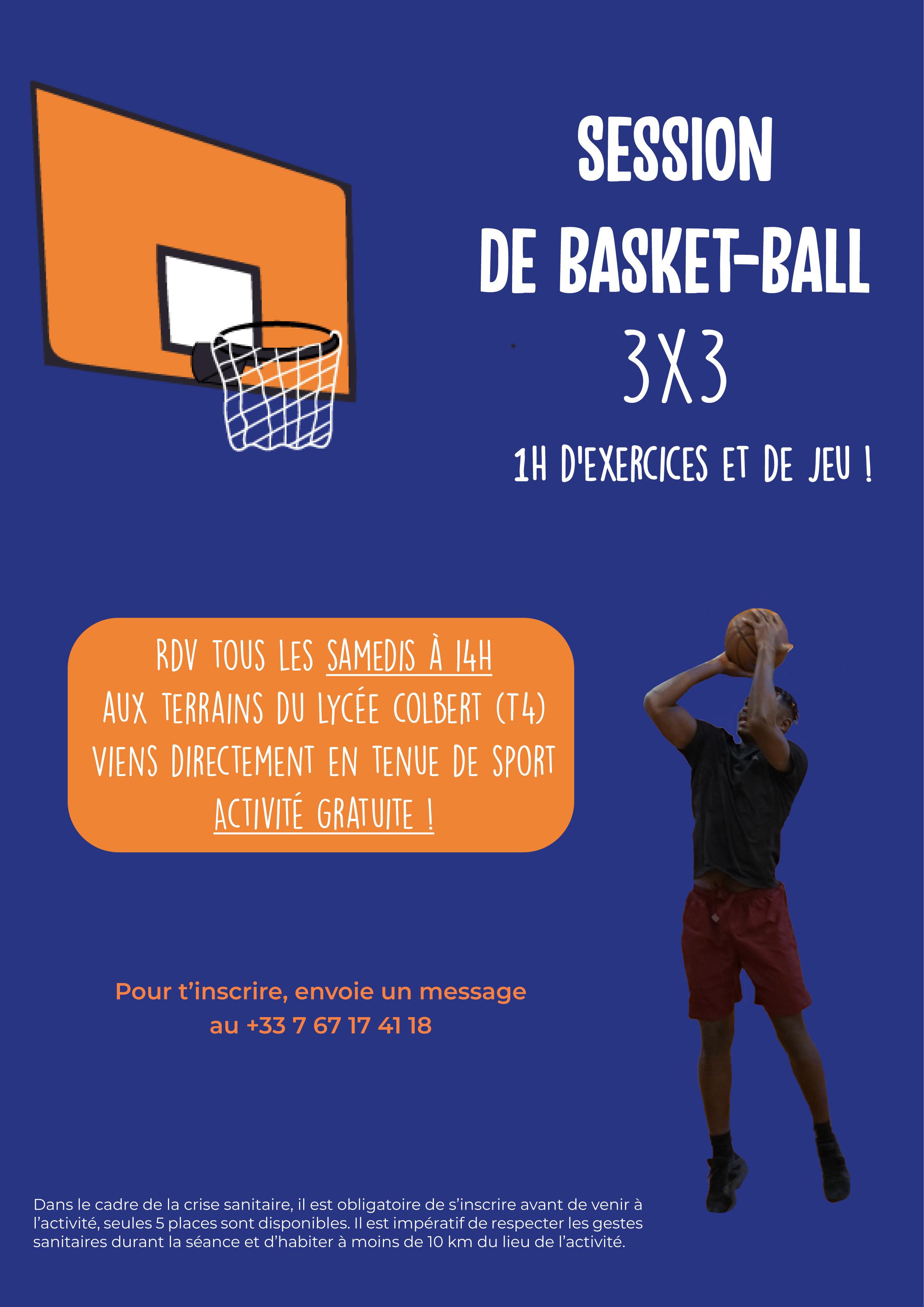 LYON - Basket 3x3 du samedi