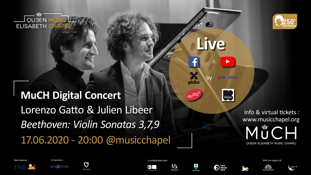 MuCH Digital Concert - Lorenzo Gatto & Julien Libeer